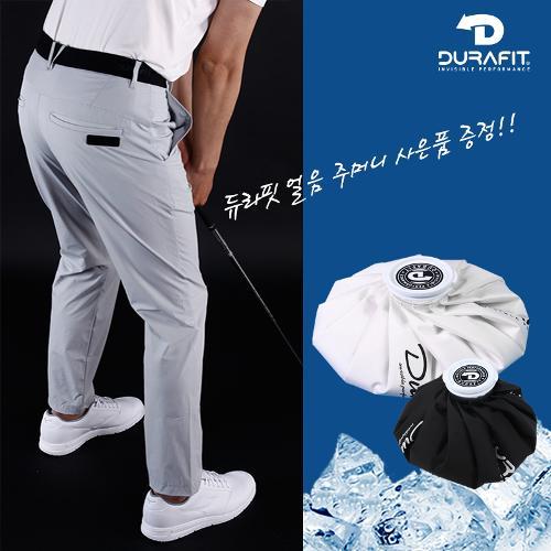 (얼음 주머니 증정)듀라핏 인비저블 퍼펙트 허리밴딩 남성 골프바지 D21S2PT07_LG