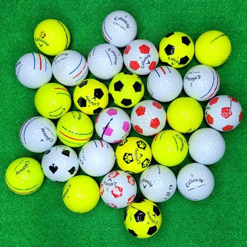 캘러웨이 크롬소프트 골프 로스트볼 A급 30알