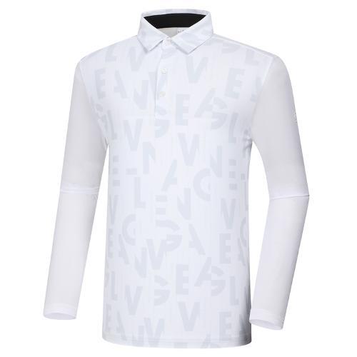 [와이드앵글] 남성 CF W.ICE 워딩 프린트 긴팔 티셔츠 M WMM21244W2
