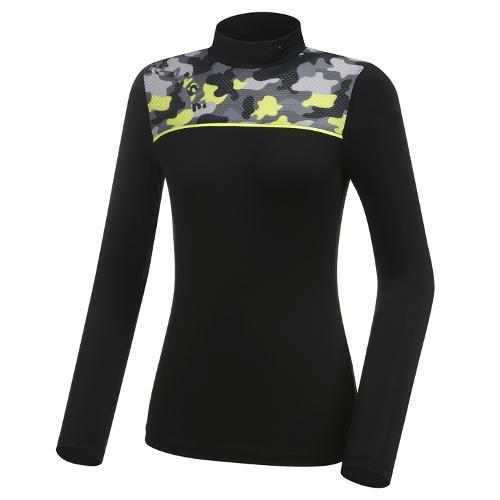 [와이드앵글] 여성 WG W.ICE 캐모플라쥬 냉감 긴팔 티셔츠 L WWM21258Z1