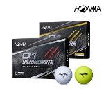 혼마 D1 스피드몬스터 골프공 골프볼 3피스 포장가능