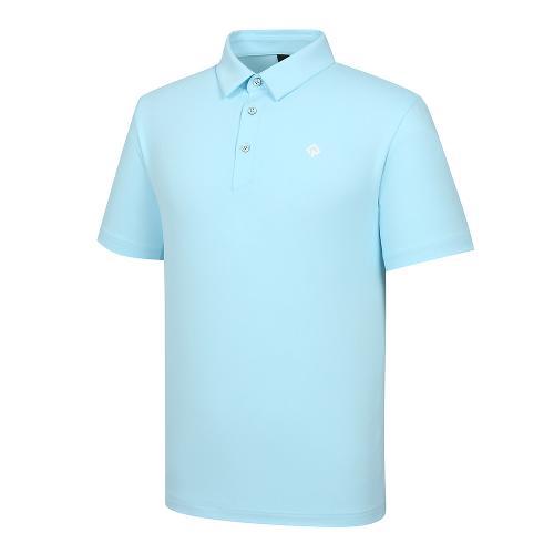 [레노마골프]21SS 남성 엠보 자가드 카라 반팔 티셔츠 RMTYK2151-901_G