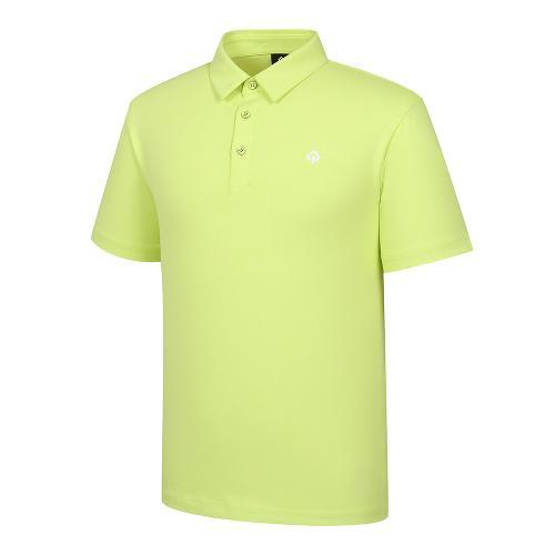[레노마골프]21SS 남성 엠보 자가드 카라 반팔 티셔츠 RMTYK2151-211_G