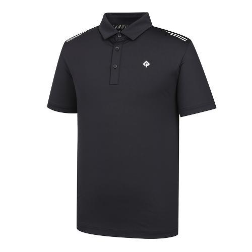 [레노마골프]21SS 남성 펀칭소재MIX 제에리 티셔츠 RMTYK2108-199_G