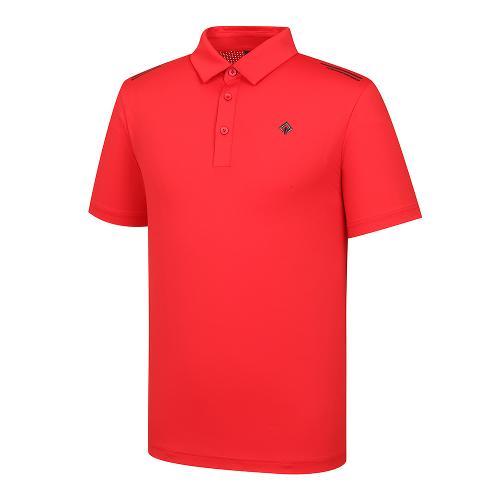 [레노마골프]21SS 남성 펀칭소재MIX 제에리 티셔츠 RMTYK2108-500_G