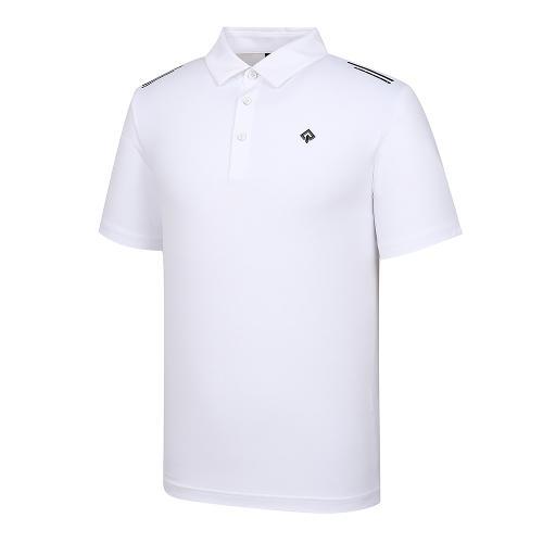 [레노마골프]21SS 남성 펀칭 카라 반팔 티셔츠 RMTYK2108-101_G
