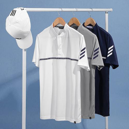 아디다스 SS 아디크로스 헨리넥 남성 반팔 티셔츠 DW5800 DW5801 DW5802