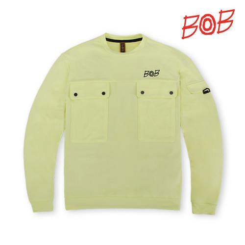 BOB 남성 포켓 포인트 맨투맨 골프티셔츠 - GBS1TR410_LM