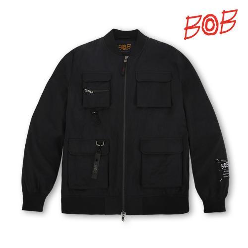 BOB SS남성 와이드 골프점퍼 - GBS1JP020_BK