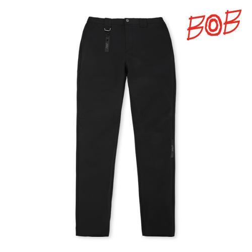BOB 남성 포인트라벨 골프바지 - GBM1PT090_BK