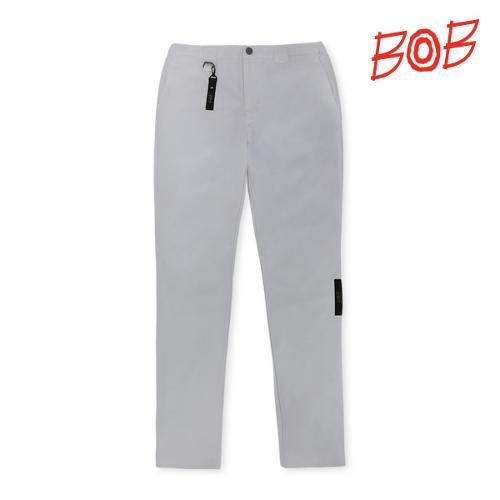 BOB 남성 포인트라벨 골프바지 - GBM1PT090_WH