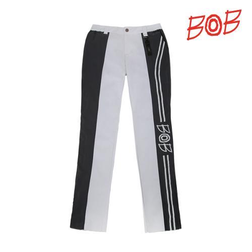 BOB 남성 프린트 스트레치 골프바지 - GBM1PT020_WH