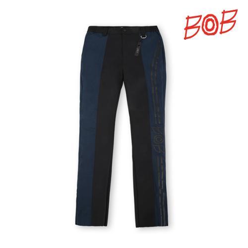 BOB 남성 프린트 스트레치 골프바지 - GBM1PT020_BK