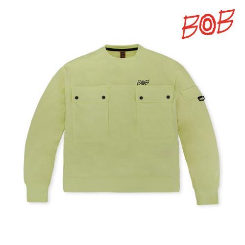 BOB 여성 포켓포인트 라운드 골프 티셔츠 - GBS2TR810_LM