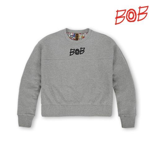 BOB 여성 숏맨투맨 긴팔 골프 티셔츠 - GBS2TR510_MG