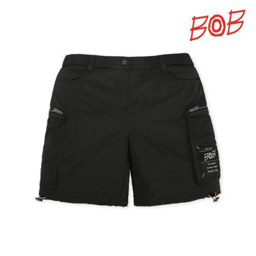 BOB 여성 아웃포켓 포인트 골프 반바지 - GBS2PS520_BK