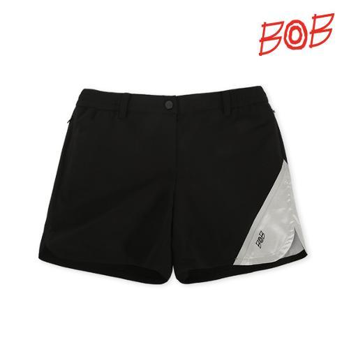 BOB 여성 스트레치원단 골프 반바지 - GBS2PS510_BK