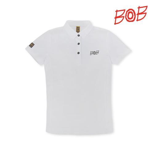 BOB 여성 냉감효과 반팔 골프 카라티셔츠 - GBM2TS540_WH