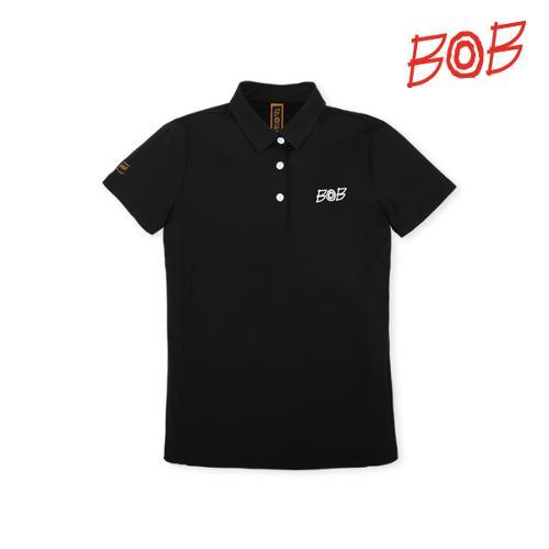 BOB 여성 냉감효과 반팔 골프 카라티셔츠 - GBM2TS540_BK