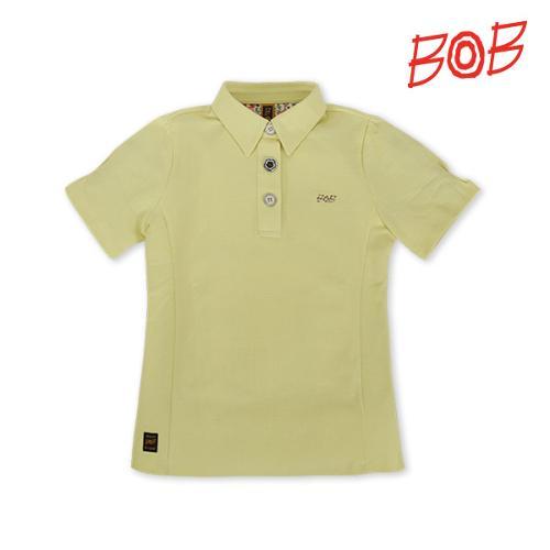 BOB 여성 퍼프소매 반팔 골프 카라티셔츠 - GBM2TS520_LM