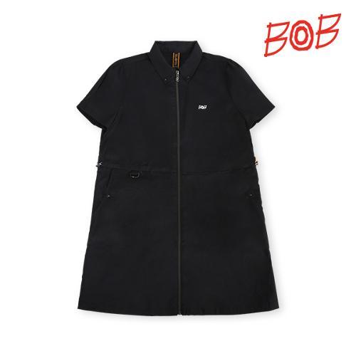 BOB 여성 기능성원단 스트레치 원피스 - GBM2TE510_BK