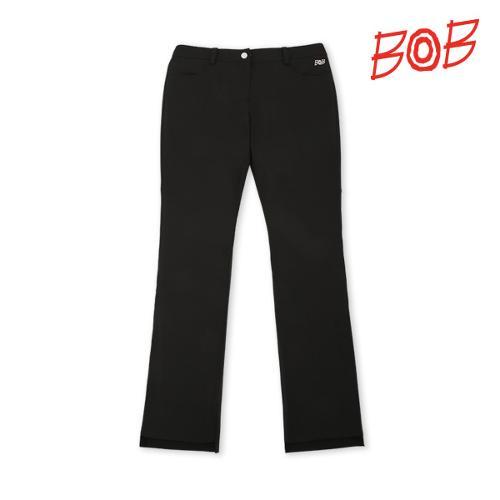 BOB 여성 기능성원사 골프 긴바지(부츠컷)- GBM2PT510_BK