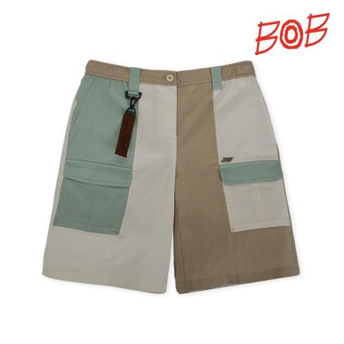 BOB 여성 배색 포인트 골프 반바지 - GBM2PS530_MT