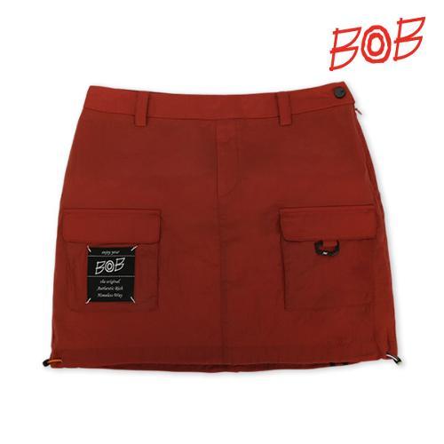 BOB 여성 아웃포켓 포인트 큐롯 스커트 - GBM2PQ520_OR