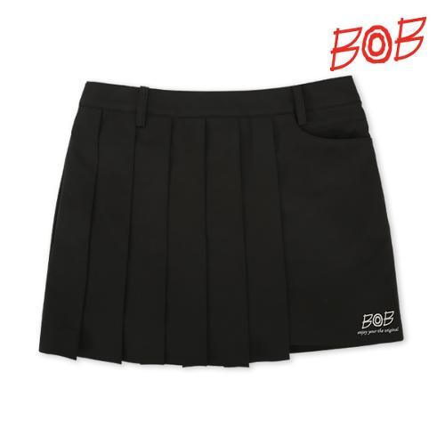 BOB 여성 기능성원단 골프 큐롯 스커트 - GBM2PQ510_BK