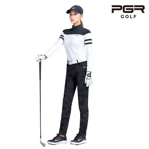 PGR GP-2083 여성골프 카모플라쥬 바지 여자 팬츠 기능성