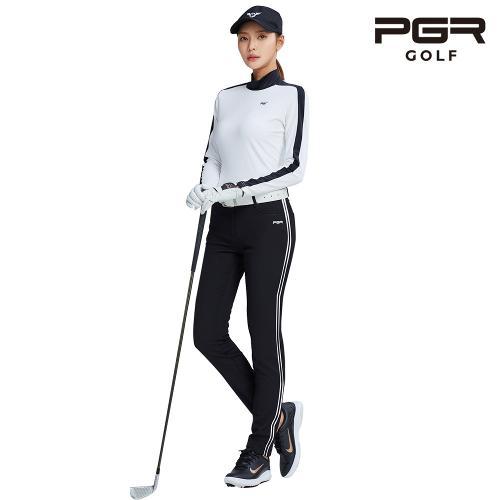 PGR GP-2082 여성골프 블랙 바지 여자 팬츠 기능성