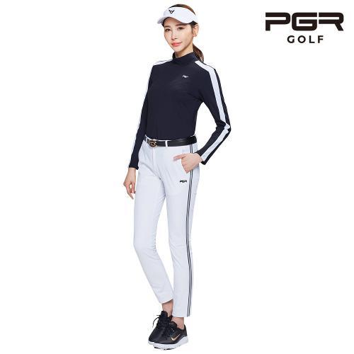 PGR GP-2081 여성골프 화이트 바지 여자팬츠 기능성