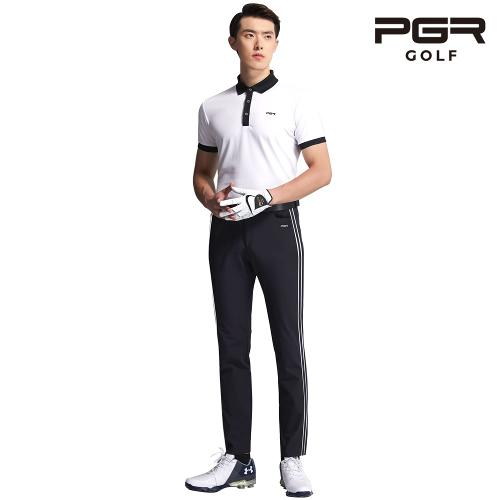 PGR GP-1082 남성골프 블랙 바지 남자 팬츠 기능성