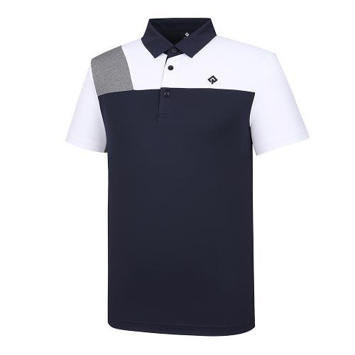 [레노마골프]남성 배색 카라 반팔 티셔츠 RMTYJ2120-925_G