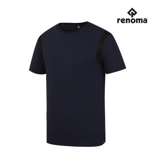 [레노마골프]남성 라운드 반팔 티셔츠 RMTRJ2172-915_G