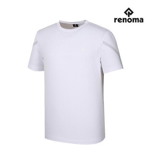 [레노마골프]남성 웰딩 반팔 티셔츠 RMTRJ2193-100_G