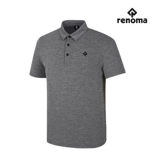 [레노마골프]남성 베이직 카라 반팔 티셔츠 RMTYJ2181-193_G