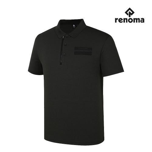[레노마골프]남성 가슴 원반집업 카라 반팔 티셔츠 RMTPJ2132-816_G