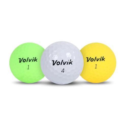 [볼빅 정품] X-OUT 2피스 컬러 혼합 골프공_12알