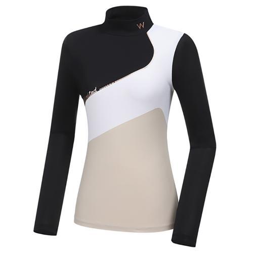 [와이드앵글] 여성 WL W.ICE 빅Y 긴팔 티셔츠 L WWM21211Z1