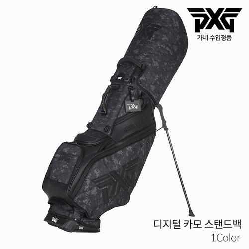 ◆13주년 행사상품◆ [카네 정품] PXG 디지털 카모 스탠드백 골프백 2021년