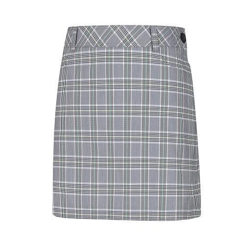 [레노마골프]여성 체크 뒷플리츠 큐롯 RWPCI6533-804_G