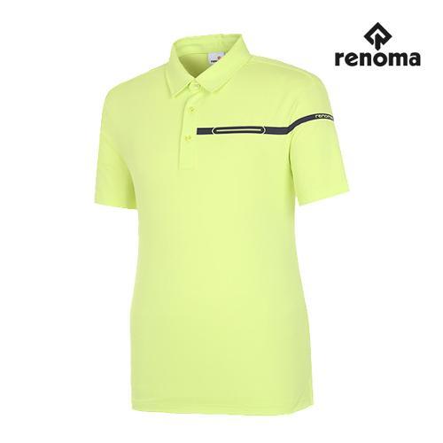 [레노마골프]남성 웰딩 반팔 카라 티셔츠 RMTYG2103-131_G