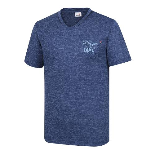 [레노마골프]남성 포켓 포인트 반팔 티셔츠 RMTRI2130-906_G