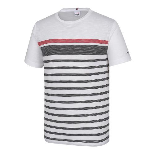 [레노마골프]남성 스트라이프 반팔 티셔츠 RMTRI2129-100_G