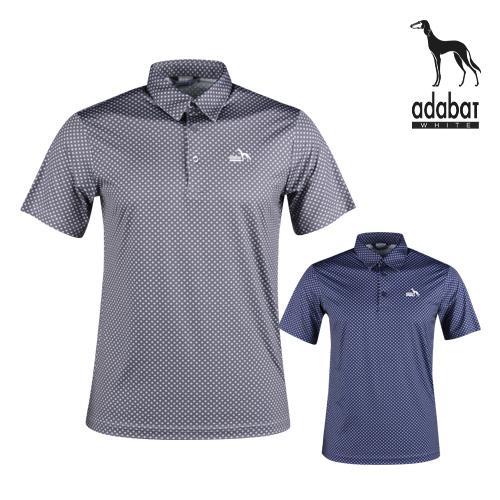 아다바트W 남성 여름 반팔 골프카라셔츠 AB1M412