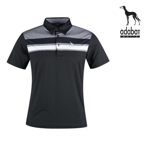 아다바트W 남성 여름 반팔 골프카라셔츠 AB1M411