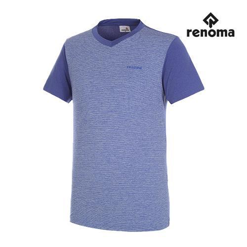 [레노마골프]남성 쿨 브이넥 반팔 티셔츠 RMTRG2136-110_G