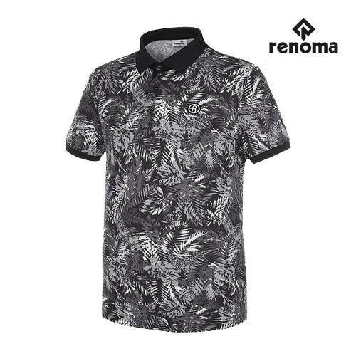 [레노마골프]남성 트로피컬 반팔 티셔츠 RMTPG2134-199_G