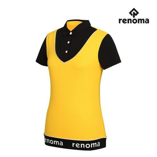 [레노마골프]여성 레이어드 카라 반팔 티셔츠 RWTYG6131-203_G